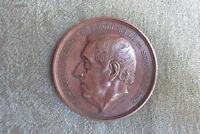 C19th Belgian Medallion -- Alexandre Rodenbach -- 1868 -- Politician -- Brewing