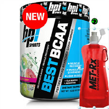 BPI Sports BCAA Amino Acids 30 Servings Offer due to expiry 06/20 & water pouch