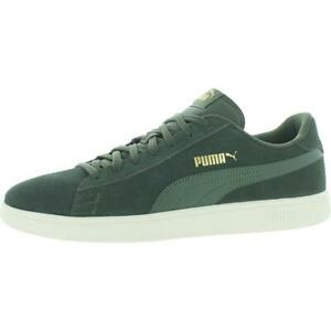 Puma Mens Smash v2 Suede Low-Top Trainers Skate Shoes Sneakers BHFO 5738
