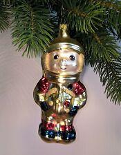 Thüringer Weihnachtsbaum Glasschmuck - Astronaut gold - Christbaumschmuck