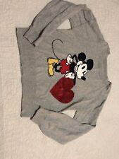 Gap Girls Disney Minnie Mouse Sweater, Size XL 12 Gray