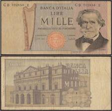 1000 LIRE ITALIA VERDI 2° TIPO 11/3/1971