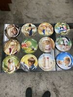 Set of 12 Donald Zolan Painter Of Children Miniature Plates 7.5""