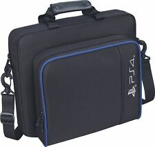 Multifunctional Nylon Bag Travel Carry Case Handbag for Playstation4 Ps4 Black
