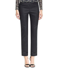 NWT Tory Burch Madison Pants Phantom Navy Cropped $295 – Size 2