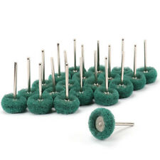 50Pcs 1 Inch Abrasive Wheel Buffing Polishing Pad Brush Rotary Tool 150 Grit
