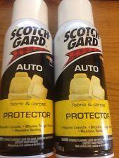 2 CANS 3M 4104D SCOTCH-GARD SCOTCH GARD AUTO CAR TRUCK FABRIC & CARPET PROTECTOR