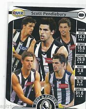 2014 Teamcoach Herald Sun Quiz (04) PENDLEBURY (SP has won 2 Collingwood B&F...)