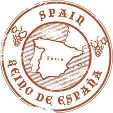 "Spain Travel Europe Sticker Decal 5"" x 5"""