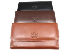 LADIES LUXURY SUPER SOFT REAL LEATHER PURSE COIN POUCH CREDIT CARD HOLDER BOXED