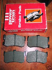 NEW REAR BRAKE PADS - FITS: ROVER 800 825 827 & HONDA LEGEND & HYUNDAI SONATA
