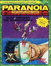 PARANOIA ALICE THROUGH THE MIRRORSHADES SEALED 12017 Roleplaying Game Sci-Fi
