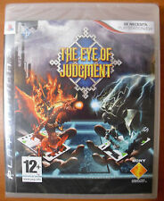 The Eye of Judgment, PlayStation 3 PS3, Versión Española ¡NUEVO A ESTRENAR!