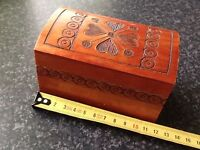 Vintage / Antique  Wooden Jewellery or Trinket Box