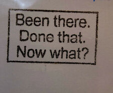 Been There! Done that! Now what? L@@k @ examples Too Much Fun  rubber stamps