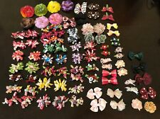 Girls Hair Accessories- Lot Of 62