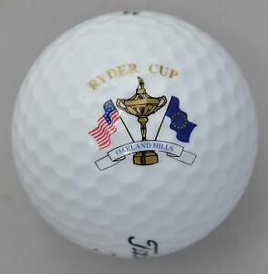 2004 RYDER CUP (OAKLAND HILLS) Titleist GOLF BALL