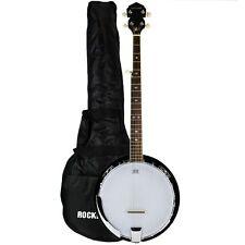 Rocket BJW01 5 String Deluxe Banjo With Gig Bag