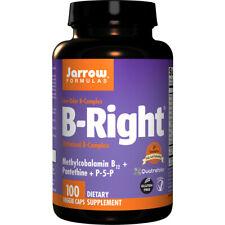 Vitamin B-Right Complex, 100 Veg Capsules - Jarrow Formulas