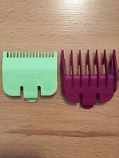 Wahl Clipper Guards,  Attachment Combs, ½ 0.5 (HALF) + 1½ 1.5 (ONE & HALF)