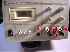 TOPWARD ELECTRIC TPS-4000 MODEL 4302D TESTED GOOD