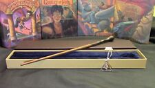 Harry Potter - Remus Lupin  Wand w/ FREE Deathly Hallow Necklace