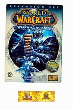 WOW World of Warcraft: The Wrath of the Lich King expansion PC juego MMORPG WOTLK