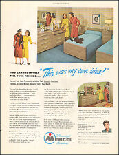 1948 Vintage Ad For Mengel Furniture`Photo Retro Dresser Photo (121616)