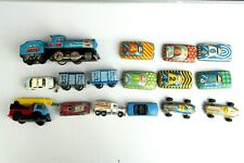 VINTAGE Large Set of 16 Toy Cars Train Truck Moscow 80 Matchbox ST-1  570