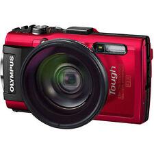 Red Waterproof Digital Cameras