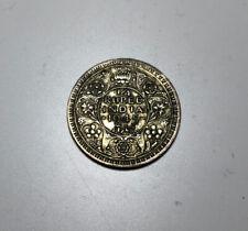 India 1/4 Rupee 1945 Large 5 F
