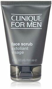 NEW SEALED Clinique For Men Face Scrub FULL SIZE 100ml.