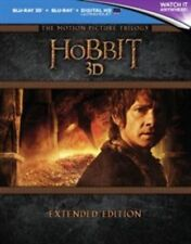 The Hobbit Motion Picture Trilogy Extended Edition 3d Blu-ray Region