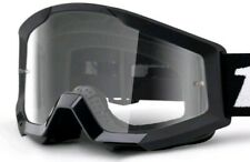 Cycling Goggles 100% Strata Mini Black Clear Lens (Youth)