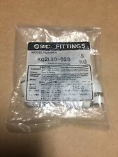 """New listing (Pack Of 5) Smc Kq2L10-02S Kq2L1002S 1/4"""" 10mm Pneumatic Elbow Fitting New"""