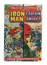 Tales of Suspense 66 VF Jun 1965 Iron Man Capt America Red Skull origin Attuma