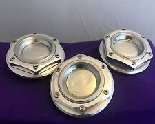 Edge Polished Wheel Center Cap Set of Three (3) pn: BC-260 FOR PARTS