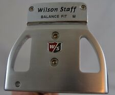 "Wilson Staff Balance Fit M Kirk Currie IV Putter 35"" RH w/Headcover Stainless"