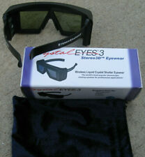 CrystalEyes 3D CE3 Glasses Crystal Eyes 3 SGI StereoGraphics CE3 3D Glasses