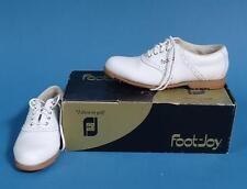 Vintage Ladies Foot Joy Golf Shoes US SZ 9 Spikeless Green Joys