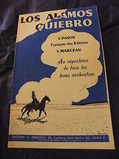 Partizione Los Alamos Quiebro di V. Marceau Pasos
