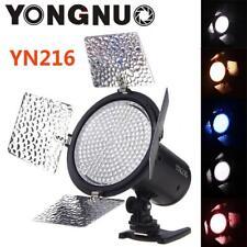 YONGNUO YN216 Studio LED Video Light Lamp 4 Filters for DSLR Camera DV Camcorder