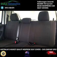 FITS Volkswagen VW Amarok Rear Neoprene Car Seat Covers - CAR COMPANY SPEC