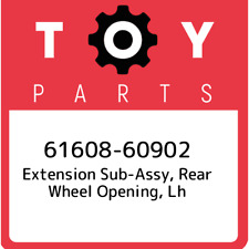 61608-60902 Toyota Extension sub-assy, rear wheel opening, lh 6160860902, New Ge