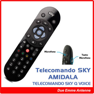 Telecomando Sky Q Voice Control Amidala - NUOVO ORIGINALE CON CONTROLLO VOCALE