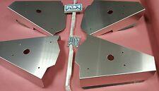 Can Am Maverick UTV Max 2013-15 Front & Rear Aluminum CV Boot Axle A ARM Guards
