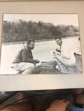 1957 Ted Williams Fishing Photo (Uncirculated) (One Of A Kind)