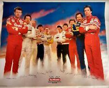 NASCAR Winston Cup Vintage Retro Poster