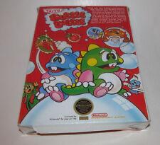 Bubble Bobble (Nintendo Entertainment System, 1988) NES Complete CIB Good Shape