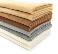Comfortable And Soft Fabrics Cloth Plush Garments Quilting Patchwork Craft 8 Pcs